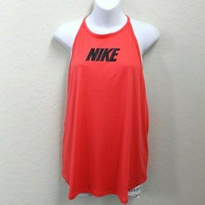 Nike Strappy High Neck T-Back Slim Fit Tank Top L